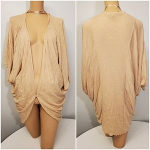 BISOU BISOU Cardigan Sweater Cover Up
